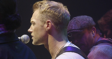Ronan Keating live with Midas desk