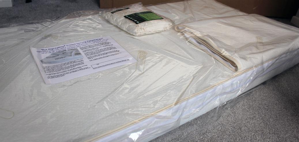 image of easychange mattress un-boxing